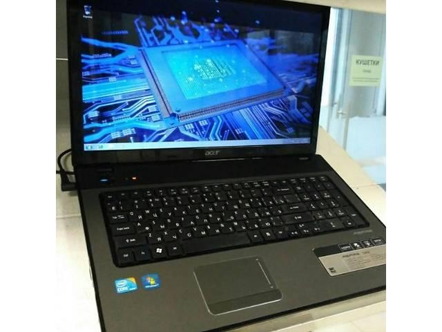 купить бу Игровой  ноутбук Acer Aspire 7741G в идеальном состоянии(Танки идут легко)  в Киеве
