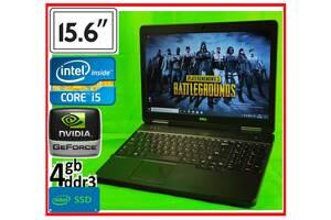 ИГРОВОЙ ноутбук Dell: SSD Core i5 Geforce 4Gb. БЕСПЛАТНАЯ доставка