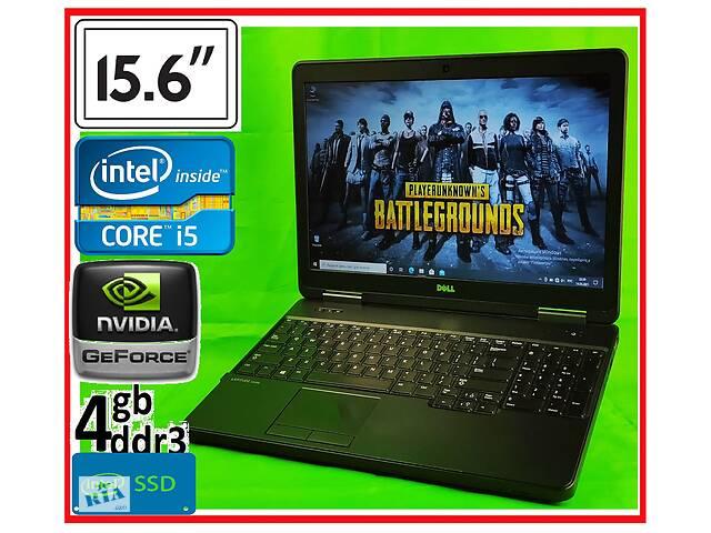 бу ИГРОВОЙ ноутбук Dell: SSD Core i5 Geforce 4Gb. БЕСПЛАТНАЯ доставка в Северодонецке
