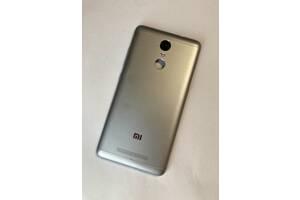 Задняя крышка для Xiaomi Redmi Note 3 (серая/серебристая)