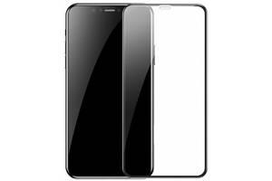 Захисне скло Baseus 0.23mm curved-screen iP XS Max 6.5inch Black