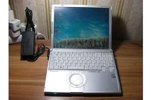 """Защищённый Panasonic CF-T7 12"""" Мультитач LCD Intel U7500 1.06-1.2ГГц 3ГБ/120ГБ Стилус Новое ЗУ Рабочая Батарея из США #1"""