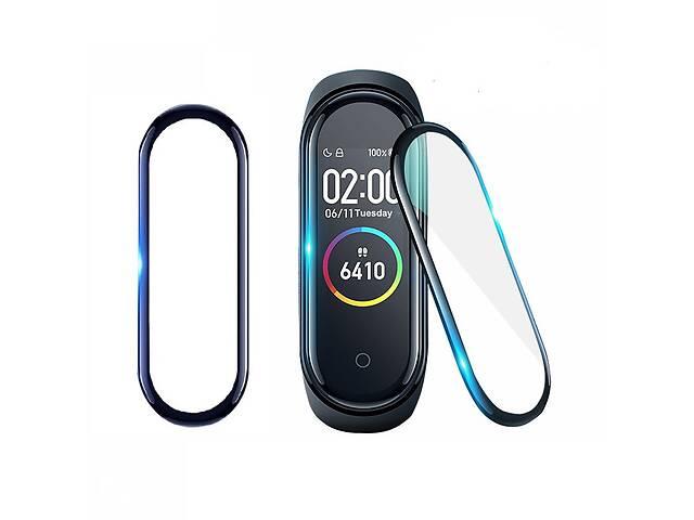 Защитная пленка для фитнес браслета Xiaomi Mi Band 4 с рамкой, комплект - 2 шт.- объявление о продаже  в Запорожье