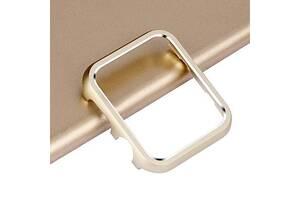 Защитный бампер для смарт часов Apple Watch 42 мм. Gold