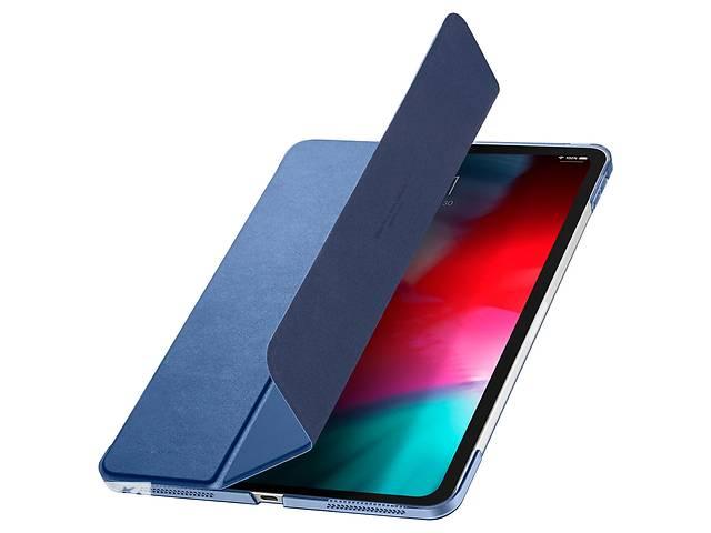 бу Защитный чехол для планшета Apple iPad Pro 12.9'' 2018SpigenSmart Fold Blue (068CS25714) в Києві