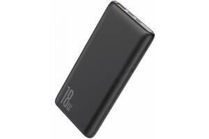 Зовнішній акумулятор Baseus Bipow PD + QC Power Bank 10000mAh (PPDML-01) Black