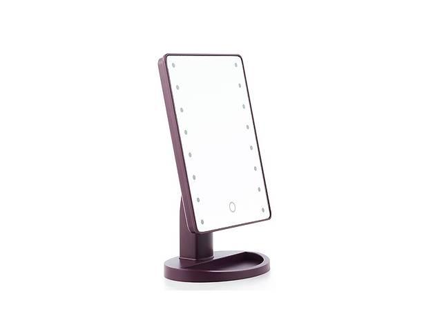 Настольное зеркало Magic с LED подсветкой Purple (hub_vMvr95044)- объявление о продаже  в Киеве