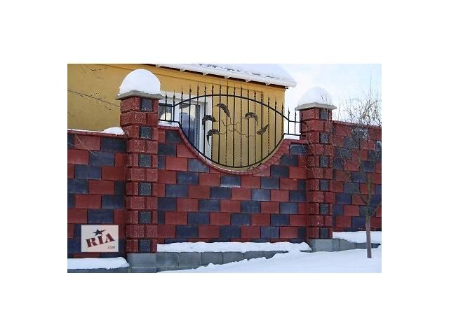 купить бу Декоративные Заборные Блоки. в Киеве