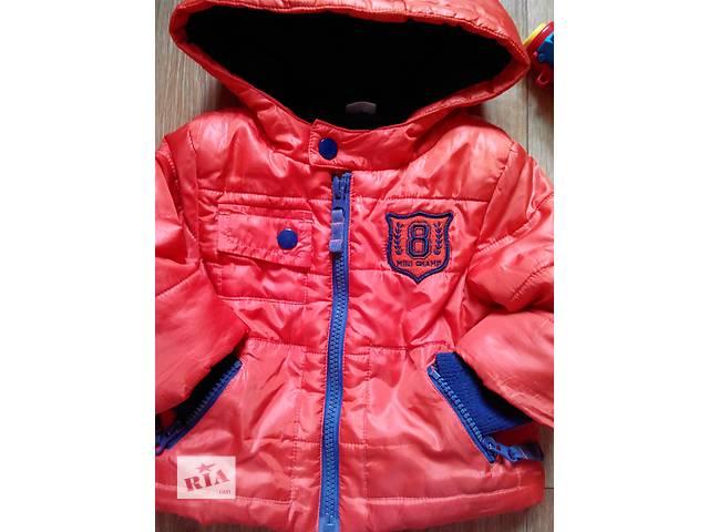 купить бу Деми курточка на модника на 6-9 мес.фирмы F&F в Купянске