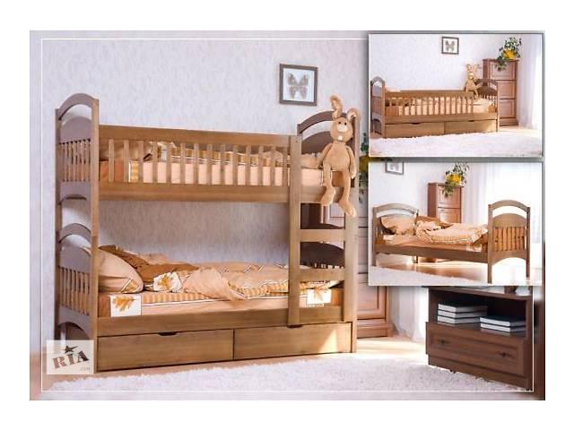 бу детская двухъярусная кровать трансформер в Киеве