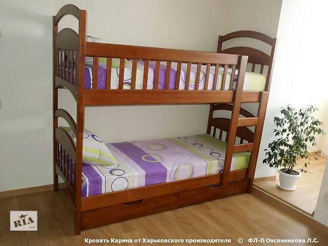 купить бу Детская двухьярустная кровать Карина Люкс в Киеве