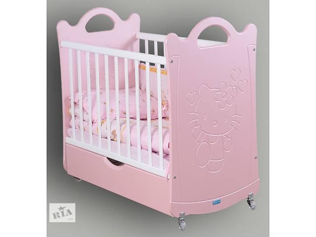 Детская кроватка, кроватка для новорожденного Пиноккио, варианты рисунков и цветов- объявление о продаже  в Одессе