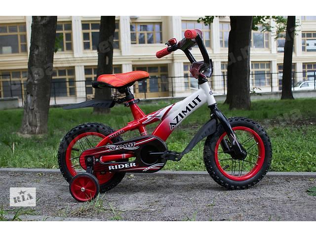 """бу Детский двухколесный велосипед Azimut RIDER (12""""-дюймов)  в Одесі"""