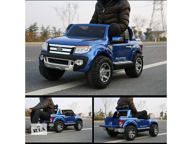 купить бу Детский двухместный электромобиль ДЖИП FORD RANGER F-150 на EVA колесах лакированный в Днепре (Днепропетровск)