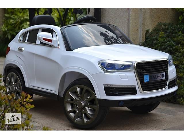 Детский электромобиль Audi XMX805: 4 амортизатора и резиновые колеса- объявление о продаже  в Львове