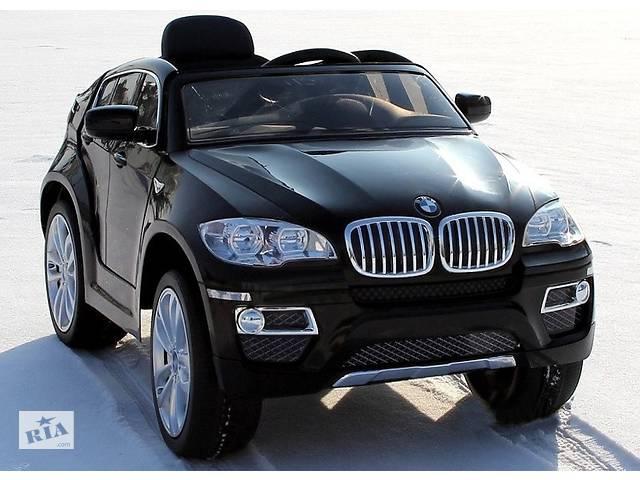 бу Детский электромобиль BMW X6 кож.сидение и резинове колеса EVA в Львове