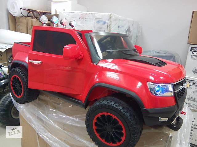 Детский электромобиль Chevy Colorado 4x4 FT 1602: EVA, 2.4G, 9 км/ч - BORDO PAINT- объявление о продаже  в Львове