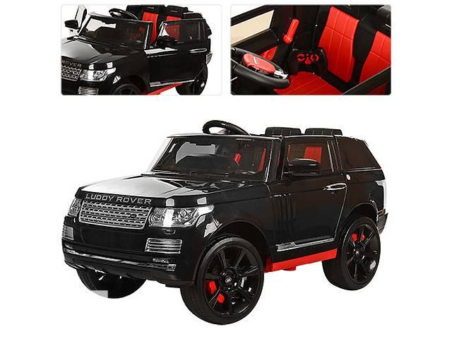Детский электромобиль Range Rover 6628: 12V, 8км/ч, 2.4G - ЧЕРНЫЙ- объявление о продаже  в Киеве