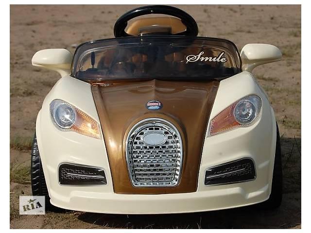 продам Детский электромобиль SMILE 938 спортивная модель Bugatti бу в Кривом Роге (Днепропетровской обл.)