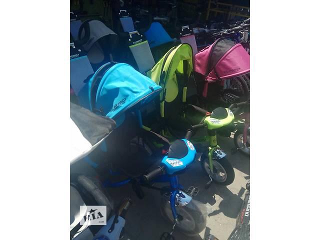 купить бу Детский трехколесник TURBO TRIKE Резина + Фара в Харькове