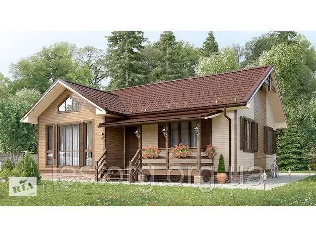 продам Дом деревянный из профилированного бруса 11х9 м бу  в Украине