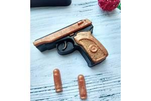 """Мыло сувенирное ароматизированное (разные виды) """"для Него"""":""""Пистолет Макарова"""" 50-55г"""
