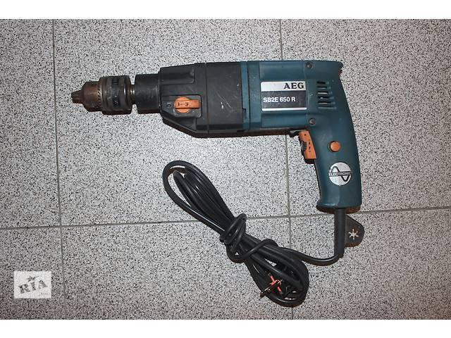 Дрель ударная AEG SB2E 650R- объявление о продаже  в Обухове (Киевской обл.)