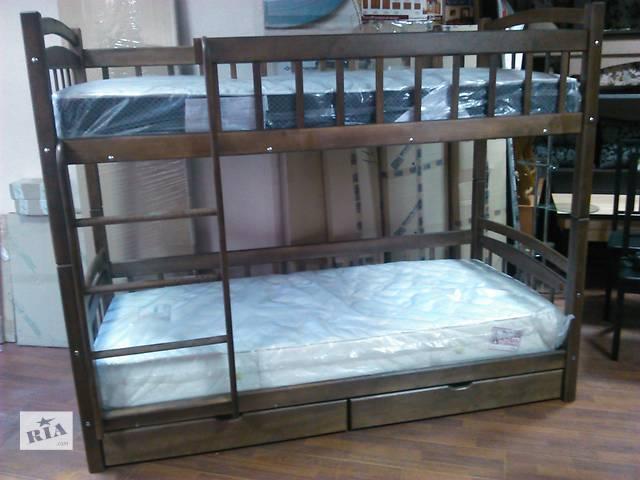Двухярусная кровать Дуэт 2 ціна з ящиками- объявление о продаже  в Ровно