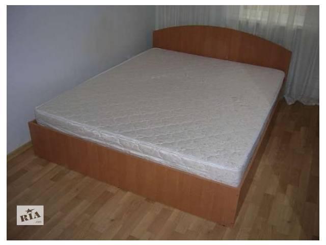 купить бу Двухспальная кровать с матрасом 160х200.  7 цветов. Доставка в Киеве