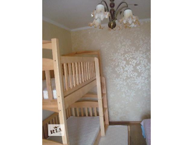 Двухъярусная кровать на три спальных места с матрасами !- объявление о продаже  в Киеве