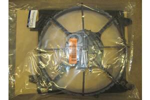 Диффузор вентилятора радиатора Hyundai Santa Fe 06- (пр-во Mobis)