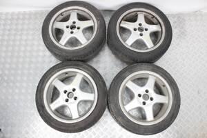 Диск колесный литьё комплект с резиной R16/7.5J ET35 Honda Civic (EM/EP/ES/EU) 2001-2005  (38908)