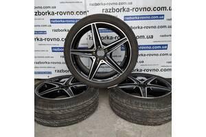 Диск колесный титановый Mercedes W205 2014-2020г AMG R18 5x112 A20540111100