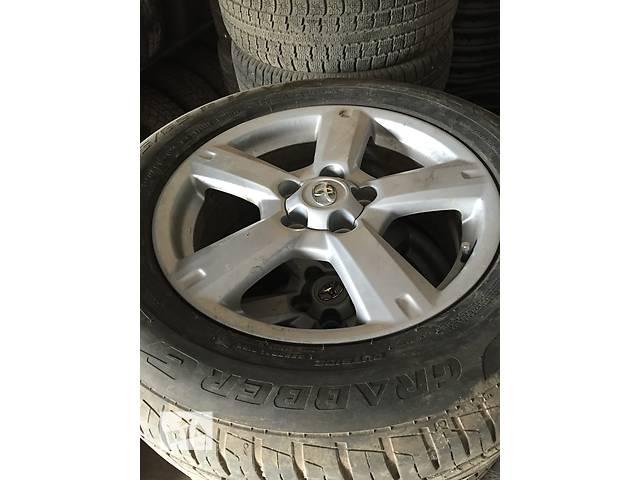 Диск с шиной для кроссовера Toyota Rav 4- объявление о продаже  в Ивано-Франковске