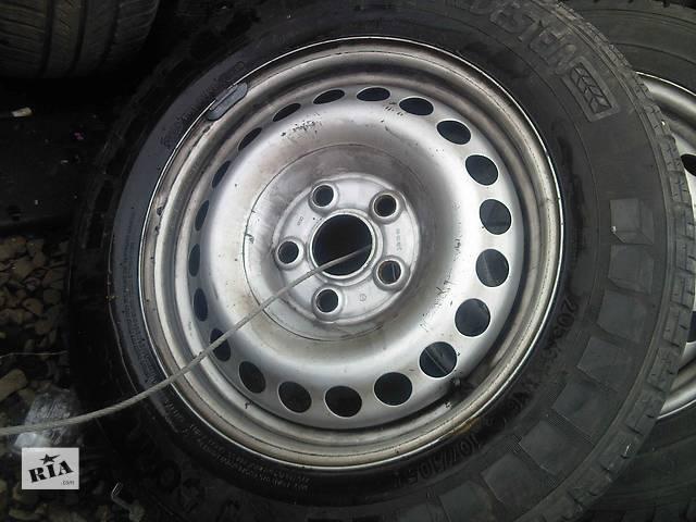 купить бу  Диски 15 с шиной для легкового авто Volkswagen T4 (Transporter) в Ужгороде