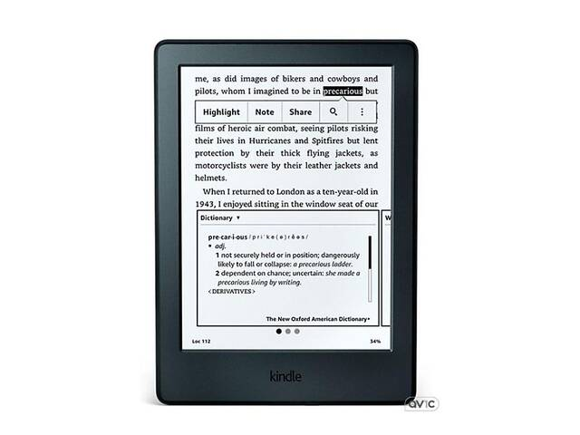 Электронная книга Amazon Kindle Paperwhite (2016) Black (Open Box)- объявление о продаже  в Харькове