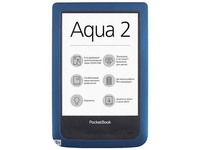 бу Электронная книга PocketBook 641 Aqua 2 Azur в Киеве