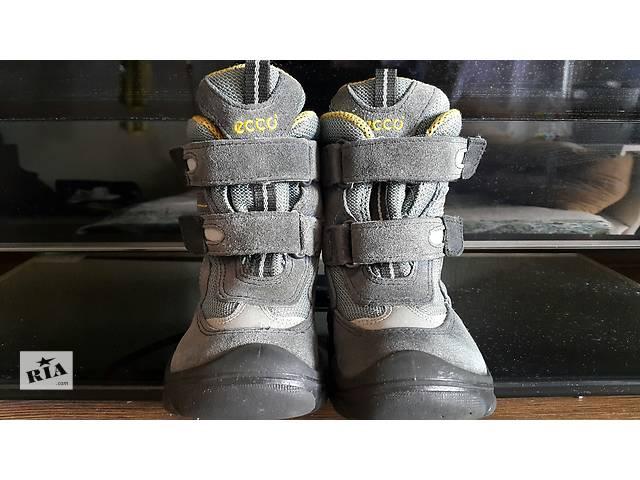 Ecco ботинки зима мальчик 22 р- объявление о продаже  в Киеве