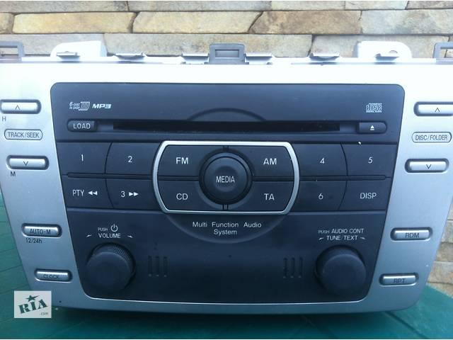 бу Электрооборудование кузова Радио и аудиооборудование/динамики Легковой Mazda 6 2009 в Львове