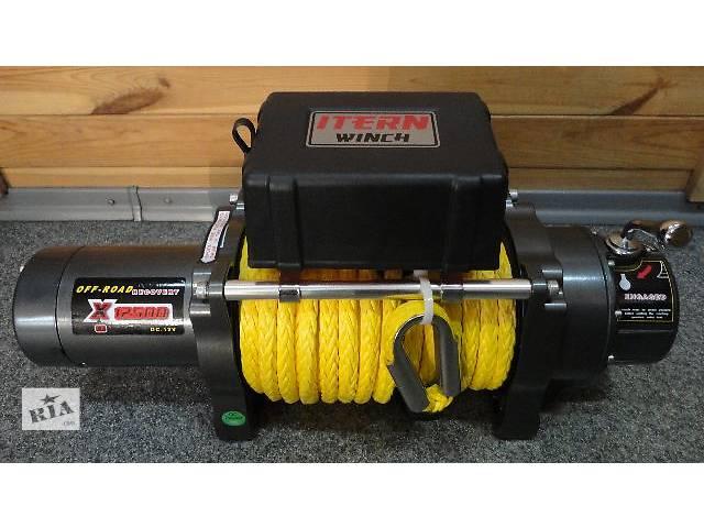 купить бу Электрическая лебедка ITERN X 12500S с синтетическим тросом в Киеве