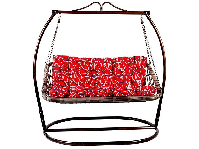 купить бу Кресло-качалка, садовые качели Мельба 3-х местные в разных цветах в Львове