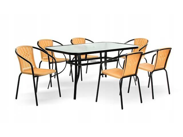 Садовый набор Kinga EUROHIT Garden, стол + 6 стула, бежевый. Нет в наличии- объявление о продаже  в Львове