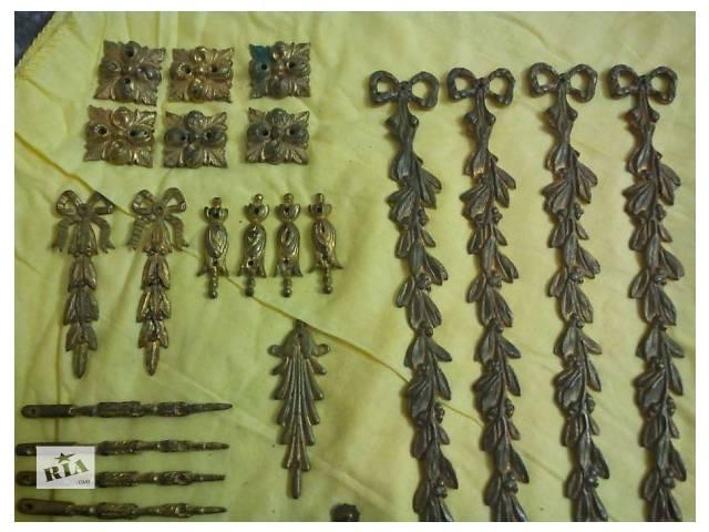 продам Фурнитура мебельная 88 шт :накладки,крепление,ручка бронза. бу в Запорожье
