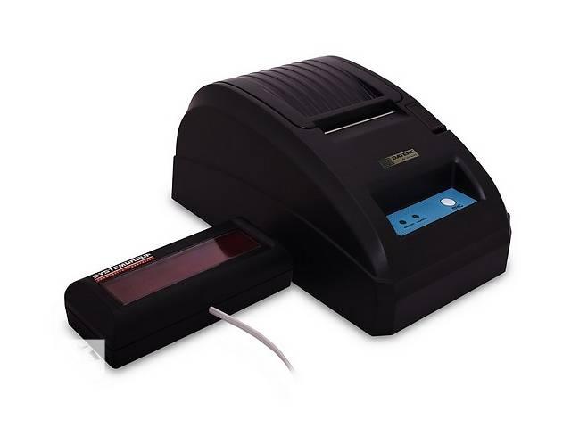 купить бу Фискальный регистратор РРО Датекс Datecs 101+индикатор (новый гарантия)  в Украине