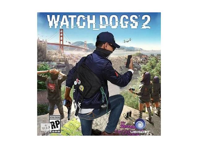 купить бу Игра PC Watch Dogs 2 в Киеве