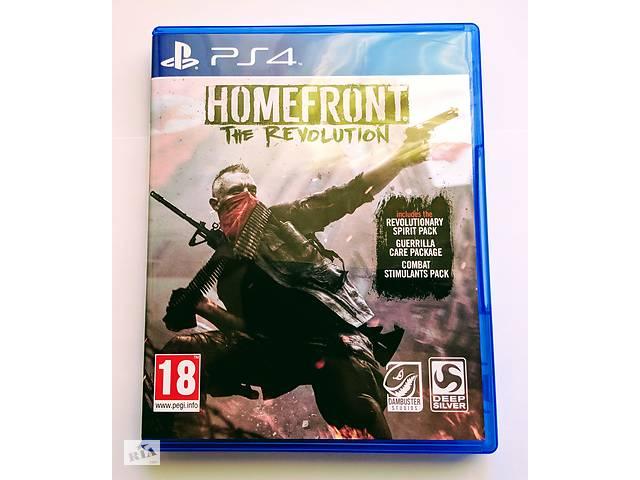 купить бу Homefront The Revolution PS4 новый диск / рус в Запорожье