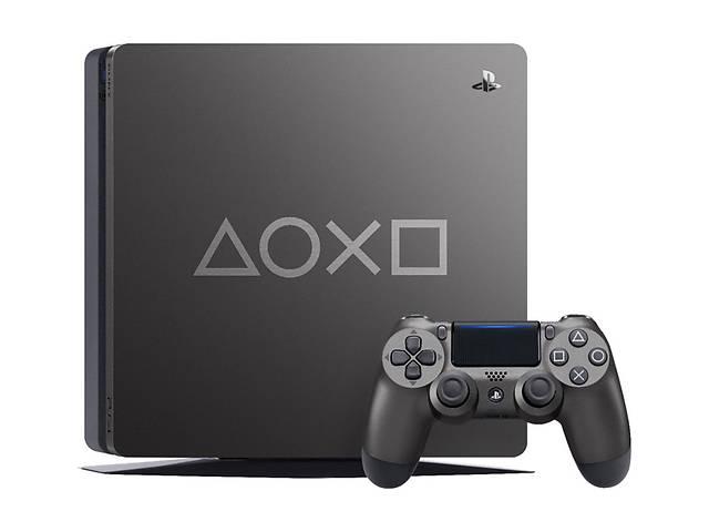 купить бу Игровая приставка Sony PlayStation 4 1TB Days of Play Limited Edition в Харкові