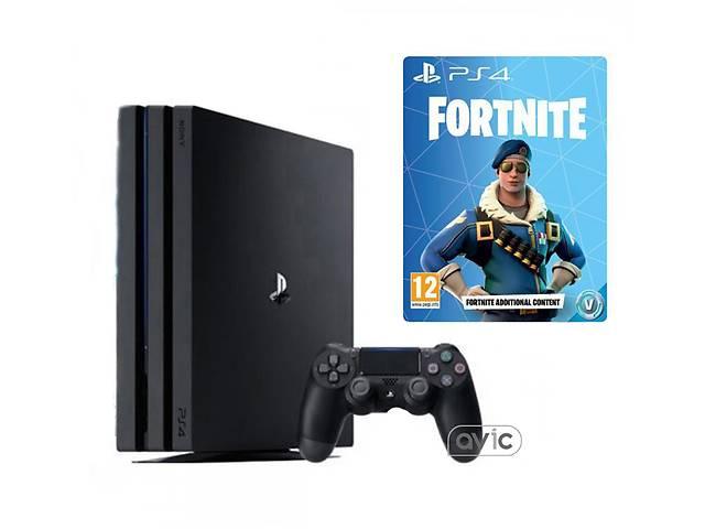 Игровая приставка Sony PlayStation 4 Pro PS4 Pro 1TB  plus  Fortnite- объявление о продаже  в Харькове