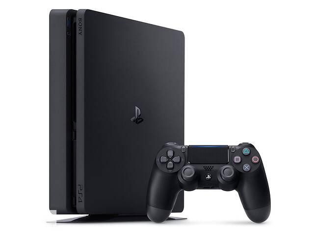 продам Игровая приставка Sony Playstation 4 Slim 1TB plus FIFA 20 plus DualShock 4 бу в Харкові
