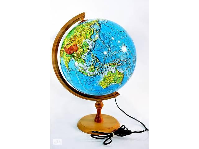 купить бу Глобус 3D с подсветкой 320 мм физический (рус.) BST 540110 в Одессе